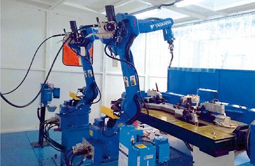 沈阳通用》薄板焊接机器人系统